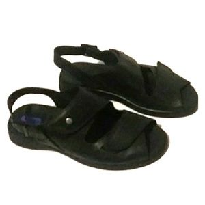 Wolky leather sandals